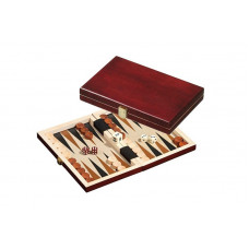 Backgammon Board in Wood Saloniki XS Travel