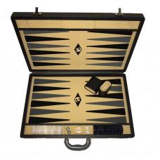 Backgammon set XL Popular Beige 45 mm Stones