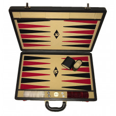 Backgammon set XL Popular Beige 45 mm Stones