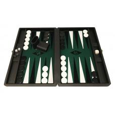 Backgammon set M Popular 36 mm Stones BL-GR-BL-WH
