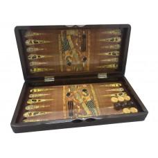 Backgammon set in Wood Egypt M