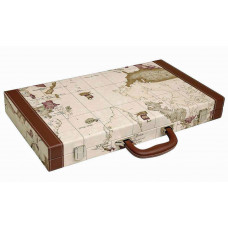 Backgammon Board L Middleton MAP in White