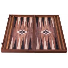 Backgammon Board in Walnut Poseidon L