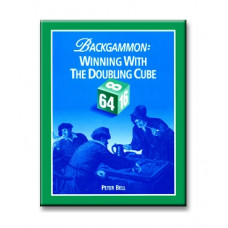 """Backgammon Book 196 p """"Winning with the Doubling Cube"""""""