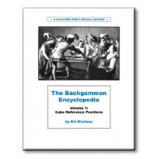 "Backgammon Book 124 p ""Backgammon Encyclopedia Volume 1"""