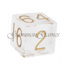 Doubling Cube Frosted Plexiglass 30 mm