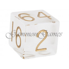 Doubling Cube Frosted Plexiglass 36 mm