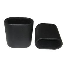 Dice Cups Leatherette Gamao  in Black