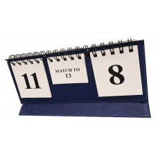 Backgammon Score Board Folding design in blue