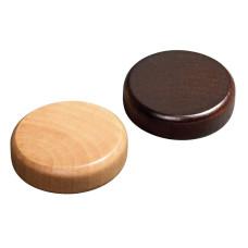 Backgammon Stones made of Alder Diam 35 mm