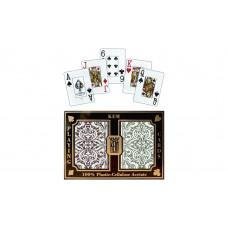 KEM Playing Cards Bridge size Jacquard Jumbo Index