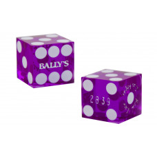 Casino Precision Dice from Las Vegas Casinos