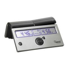 Chess-clock DGT Easy Plus Silver Digital