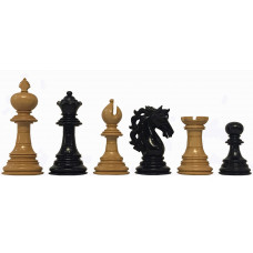 Chess Pieces Hand Carved American Adios KH 112 mm