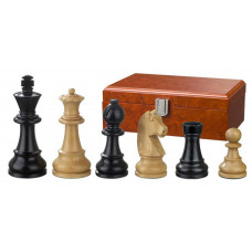 Wooden Chess Pieces Ludwig XIV hand-carved KH 95 mm