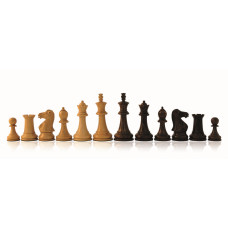 Wooden Chess Pieces Hand-carved Staunton KH 76 mm