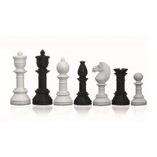 Modern Chess Pieces Glossy Suitor KH 105 mm