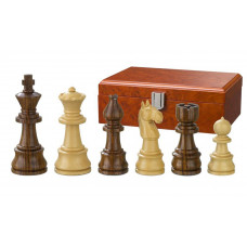 Hand-carved Wooden Chessmen Theoder KH 95 mm
