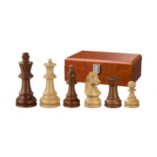 Wooden Chess Pieces Hand-carved Sigismund KH 76 mm