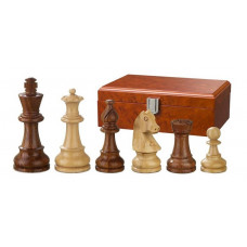 Wooden Chess Pieces Hand-carved Sigismund KH 83 mm