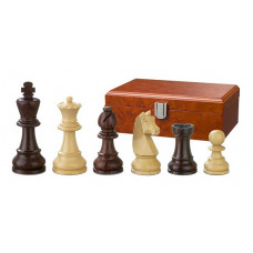 Wooden Chess Pieces Hand-carved Barbarossa KH 90 mm