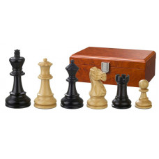 Wooden Chess Pieces Hand-carved Hadrian KH 90 mm