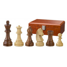Wooden Chess Pieces Hand-carved Artus KH 83 mm