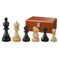 Wooden Chess Pieces Hand-carved Galerius KH 90 mm