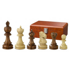 Wooden Chess Pieces Hand-carved Valerian KH 90 mm