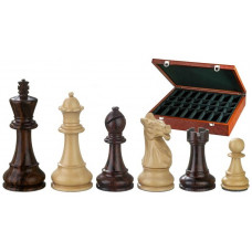 Chess Pieces Hand-carved Justitian KH 105 mm