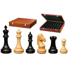 Chess Pieces Hand-carved Amoss KH 110 mm