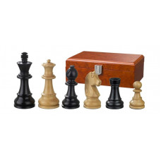 Wooden Chess Pieces Ludwig XIV Hand-carved KH 83 mm