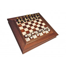 Chess & Draughts Not Foldable ML Alabastrin