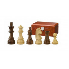 Wooden Chess Pieces hand-carved Titus KH 65 mm