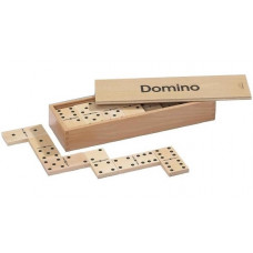 Dominos Double 6 Wooden Drawer