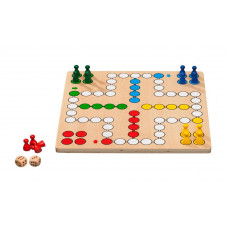 Dice Game / Ludo M Standard Made of Plywood