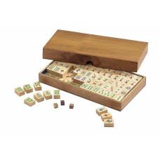 Mah Jongg Complete Set in Wooden Coffer