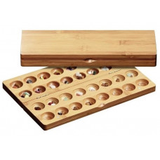 Omweso Set Bamboo L (Mancala advanced version)