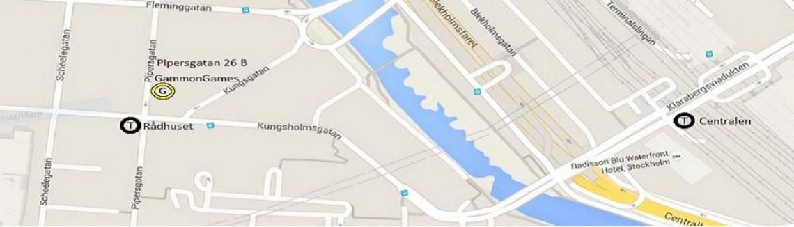 Lokal map
